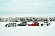Mit dem Volvo XC40 Recharge P8 AWD sicher durch den Winter