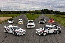 Rallye: Gruppe-B-Autos im Millionenwert werden versteigert