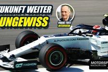 Formel 1 - Video: Formel 1, Franz Tost im Interview: Neue Teile geschenkt