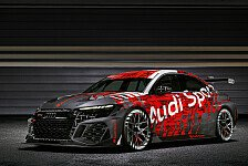 Audi RS 3 LMS 2021: Neues TCR-Rennauto präsentiert