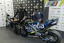 MotoGP: Avintia zeigt Bikes von Luca Marini und Enea Bastianini