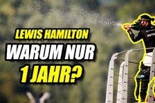 Formel 1 - Video: Formel 1: Warum hat Hamilton nur für 1 Jahr verlängert?