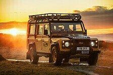 Land Rover stellt Sondermodell vor: Defender Works V8 Trophy