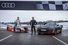Formel E - Audi: Nico Rosberg und Lucas di Grassi im Duell