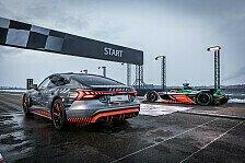 Formel E - Video: Audi e-tron GT vs. Formel-E-Auto: Sprintduell mit Nico Rosberg