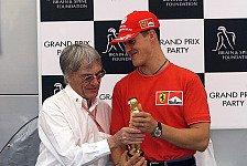 Formel 1 heute vor 20 Jahren: Bernie verleiht den Bernie-Oscar