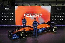 McLaren-Mercedes MCL35M: Erstes Formel-1-Auto 2021 vorgestellt