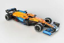 Formel 1 2021: Präsentation McLaren MCL35M