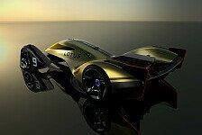 Lotus E-R9: Konzeptstudie zur Zukunft des Motorsports