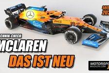 Formel 1 - Video: Der 2021er McLaren-Mercedes: Das ist wirklich neu