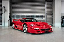 Sebastian Vettel verkauft 8 Autos aus privater Sammlung
