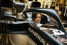 Yuki Tsunoda der japanische Verstappen? Rookie setzt auf Sieg