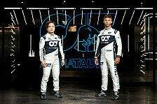 Formel 1: AlphaTauri bestätigt Tsunoda und Gasly für 2022
