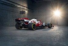Formel 1 - Video: Im Video: Alfa-Sauber präsentiert neues Formel-1-Auto