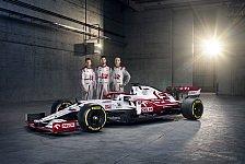 Alfa Romeo homologiert Räikkönen & Giovinazzi: Trumpf beim Test