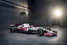 Alfa Romeo C41: Sauber zeigt neues Formel-1-Auto für 2021