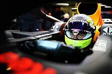 Sergio Perez fährt erstmals Red Bull: Debüt im RB15