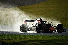 Formel 1: Die besten Bilder vom Perez-Debüt im Red Bull