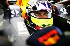 Sergio Perez jubelt nach Red-Bull-Debüt: Endlich kein Pink mehr