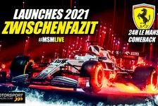 Formel 1 - Video: Formel 1 Präsentationen 2021: Das hast Du bislang verpasst!