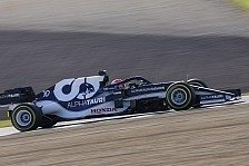 Formel 1 2021: AlphaTauri-Filmtag im AT02