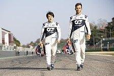 Formel 1 - Video: Formel 1 - Sprachkurs mit Pierre Gasly und Yuki Tsunoda