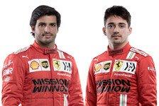 Formel 1 2021: Präsentation Ferrari - Fahrer & Team
