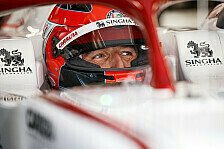 Formel 1 Barcelona: Robert Kubica drei Tage im Alfa Romeo