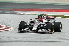 Formel 1 2021: Alfa-Romeo-Filmtag mit Kubica im C41