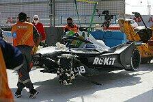Formel-E-Qualifying: Start-Verbot für Mercedes, Frijns auf Pole