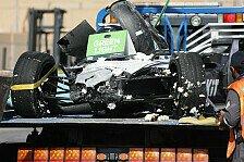 Formel-E-Unfall in Saudi-Arabien: Edoardo Mortara crasht