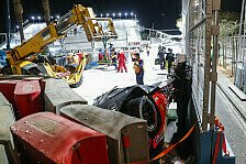 Formel-E-Unfall: Alex Lynn überschlägt sich in Riad