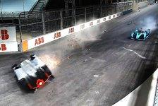 Formel E: Großer Wirbel nach schwerem Renn-Unfall in Riad