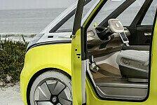 Futuristischer VW ID.Buzz soll zum autonomen Elektrotaxi werden