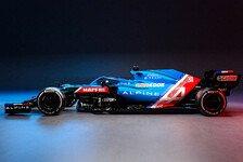 Alpine zeigt erstes Formel-1-Auto: A521 der Renault-Nachfolger