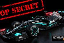 Formel 1 - Video: Was versteckt Mercedes? Angst vor neuem Formel 1 Supertrick!