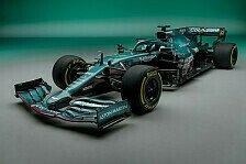 Formel 1 LIVE: Aston-Martin-Präsentation mit Sebastian Vettel