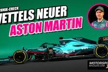 Formel 1 - Video: Vettels neuer Aston Martin: Noch näher am Mercedes!