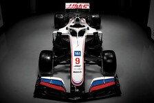Formel 1 2021: Haas präsentiert neues Design