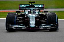 Aston Martin Filmtag: Vettel & Stroll in Silverstone