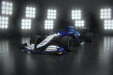 Williams präsentiert FW43B: Neues Design für Russell & Latifi