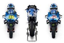 MotoGP-Weltmeister Suzuki präsentiert neues Motorrad