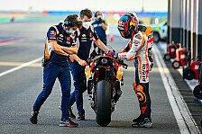 MotoGP-Test: Stefan Bradl nach Crash angeschlagen