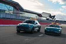 Formel 1: Die neuen Safety Cars von Mercedes und Aston Martin