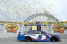 NASCAR 2021 Las Vegas: Kyle Larson holt 1. Sieg nach Comeback