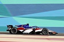 Formel 2 Test: David Beckmann mit Tagesbestzeit in Bahrain