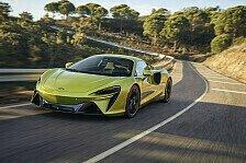McLaren Artura: Die besten Bilder des Hybrid-Supersportwagens