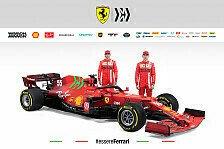 Ferrari präsentiert Formel-1-Auto: SF21 überrascht mit Grün