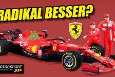 Formel 1 Technikcheck: Ferrari mit Update-Rundumschlag am SF21