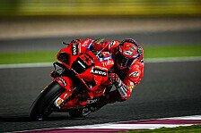 MotoGP Katar 2021: Francesco Bagnaia holt Pole mit Rekordrunde